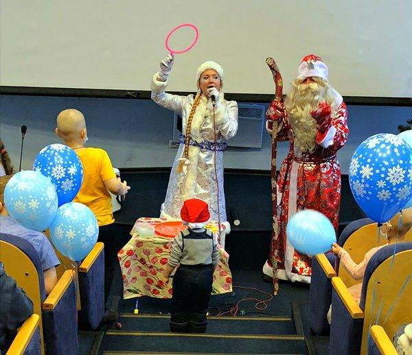 Новогодние чудеса в Петербурге